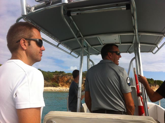 Sortie en mer pour le parquet et la gendarmerie