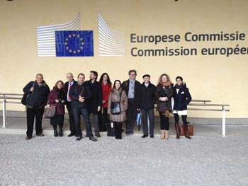 Les membres du comité de pilotage   BEST à Bruxelles The members of the Steering Committee for BEST in Brussels