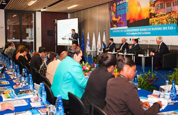View of the International Conference on Sustainable Development of Tourism in Islands
