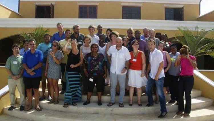 Les participants à l'atelier sur l'évaluation économique des écosystèmes