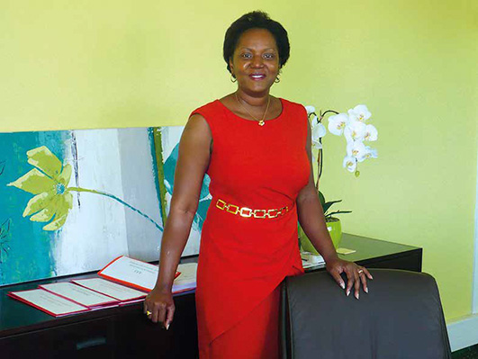 Ramona Connor, Vice-president, Collectivity of Saint Martin, Vice-president, AGOA management council