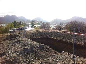 Pinel Arrêt de la construction d'une centrale d'épuration