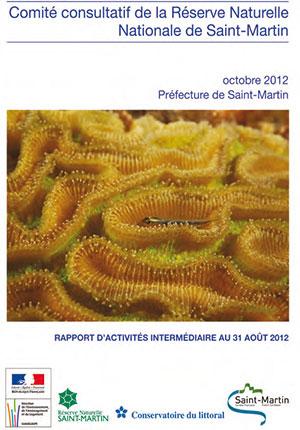 Rapport Comité Consulatif de la Réserve Naturelle de Saint-Martin - 2012