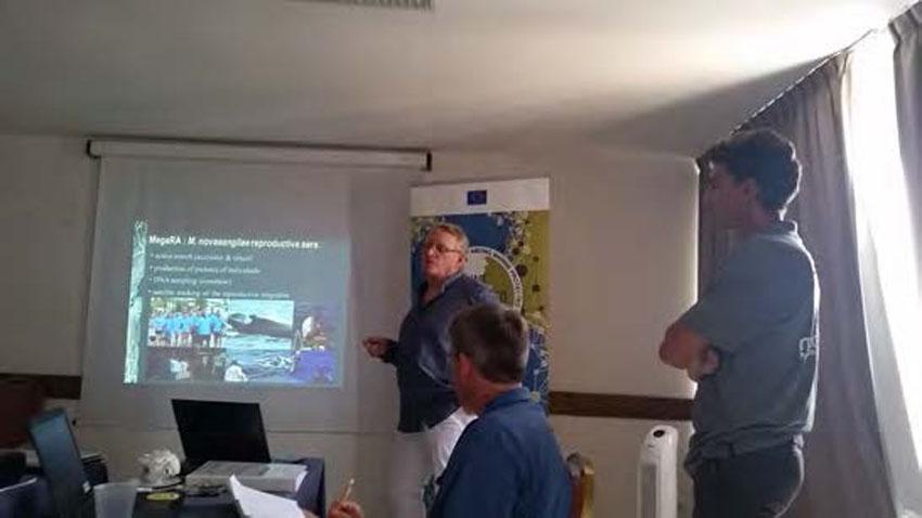 Michel Vély expose les résultats de Megara - Michel Vély presents the results of Megara