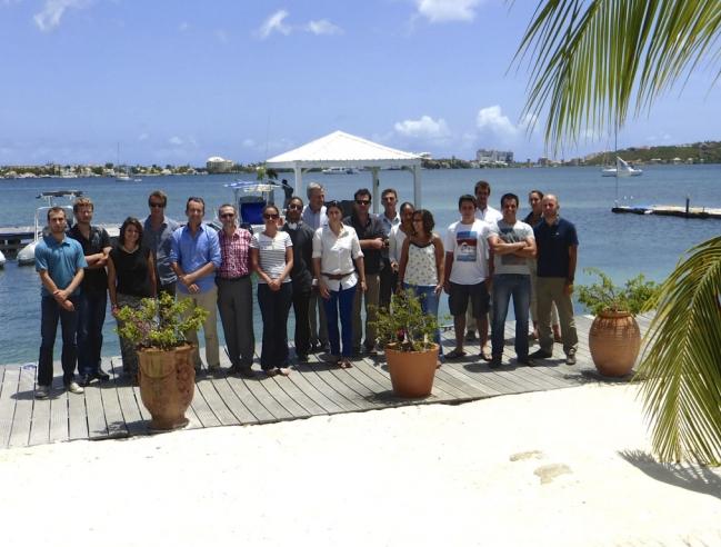 Le forum régional des gestionnaires d'aires marines protégées   The regional forum for the protection of marine areas