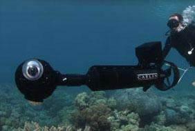Les caméras utilisées par la mission Catlin The cameras used by Catlin survey