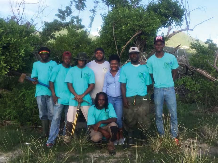 L'équipe de l'ACED - The ACED Team © Conservatoire du littoral