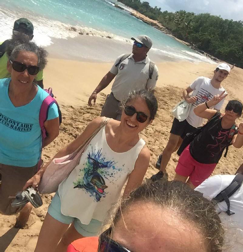 Sur le terrain en Guadeloupe - On the field in Guadeloupe