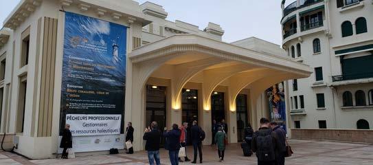 Forum et colloque autour des aires marines protégées à Biarritz Forum and colloquium in Biarritz on protected marine areas