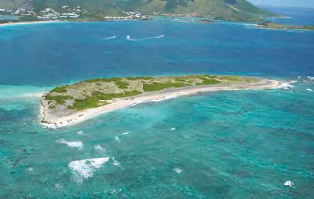 Pêche interdite à Caye Verte | No fishing at Green Cay