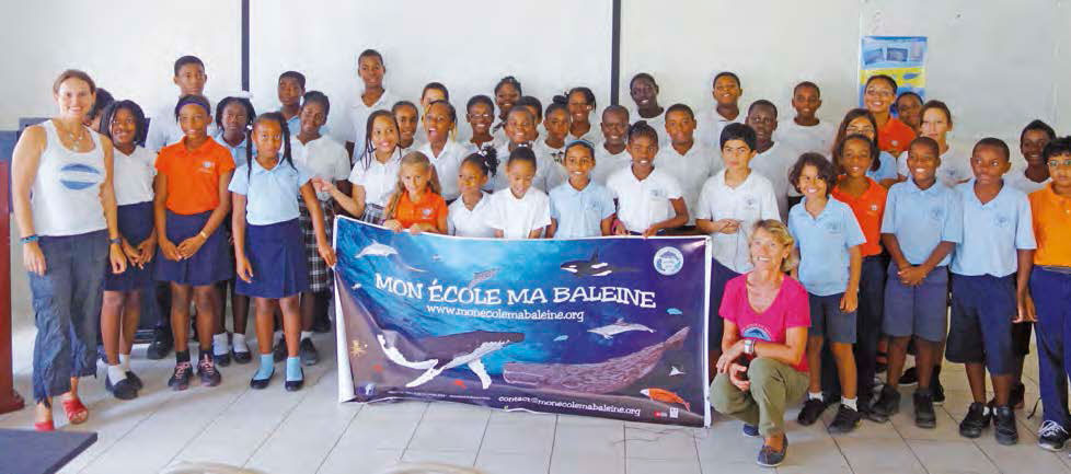 «Mon école, ma baleine» @ Anguilla