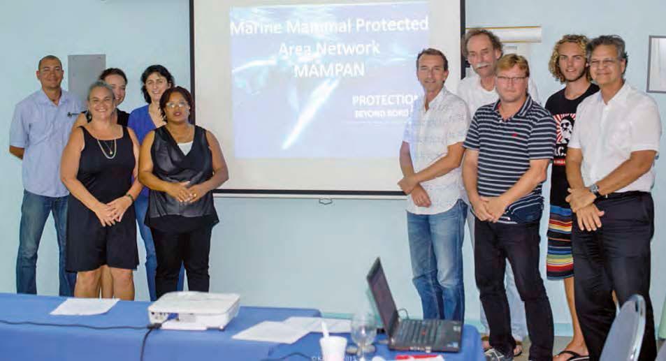 RRencontre internationale à Sint Maarten   International meeting in Sint Maarten