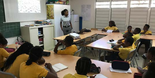 Sensibilisation en classe avec Ashley Daniel Classroom awareness with Ashley Daniel