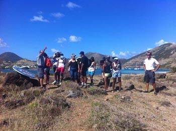 Une classe de BTS tourisme à Pinel