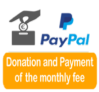 Donation and payment of the monthly fee