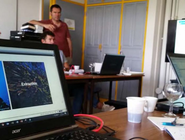 Atelier en Martinique en avril 2017 Workshop in Martinique in April 2017