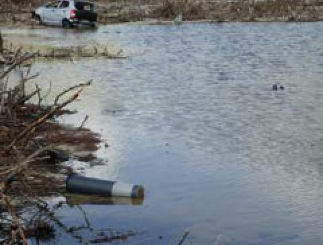 Gros nettoyage en vue à l'étang de la Barrière Big clean up planned for the Etang de la Barrière
