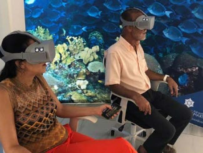 Plongée virtuelle