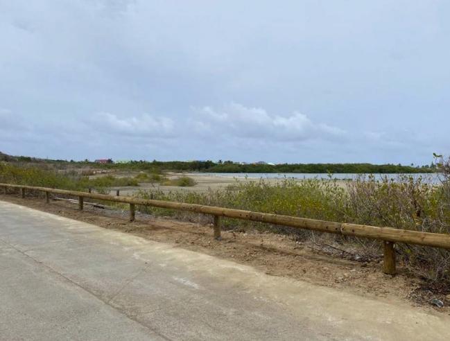 La barrière financée par l'EEASM - The fence financed by the EEASM