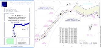 Plan de bornage - Pointe des Froussards