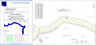 Plan de bornage - Grandes Cayes #1