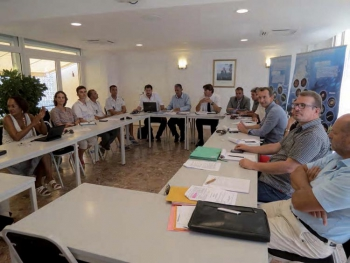 End-of-year advisory committee meeting