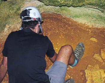 An archeologist at work