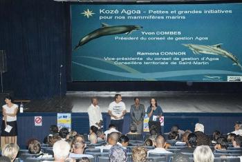 Le public a répondu en nombre à l'invitation d'Agoa © Jean Vallette