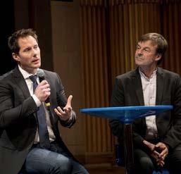 Nicolas Hulot & Thomas Pasquet à Impact2 © Erwan Floc'h