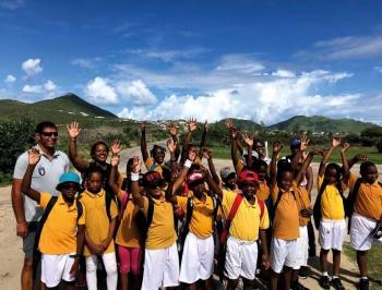 Des élèves enthousiastes - Enthusiastic pupils © Christophe Joe