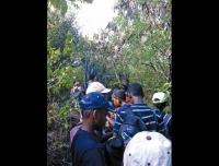 Le CM1 de l'école de Cul-de-Sac dans la forêt sèche